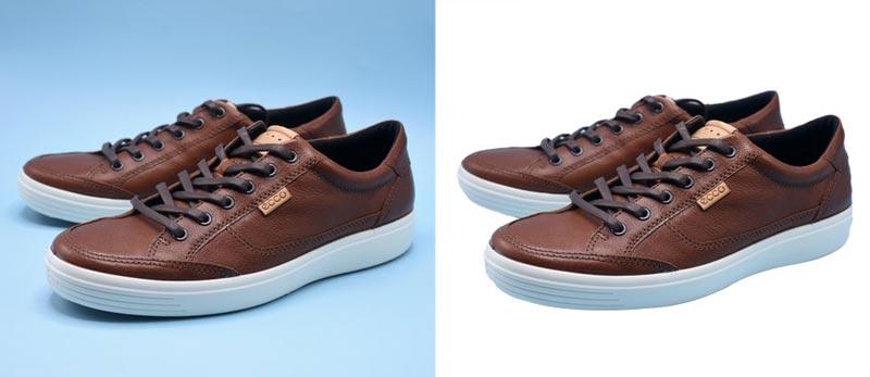 Ecommerce Photo editng service -Photolixa shoe