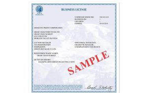 Photography License
